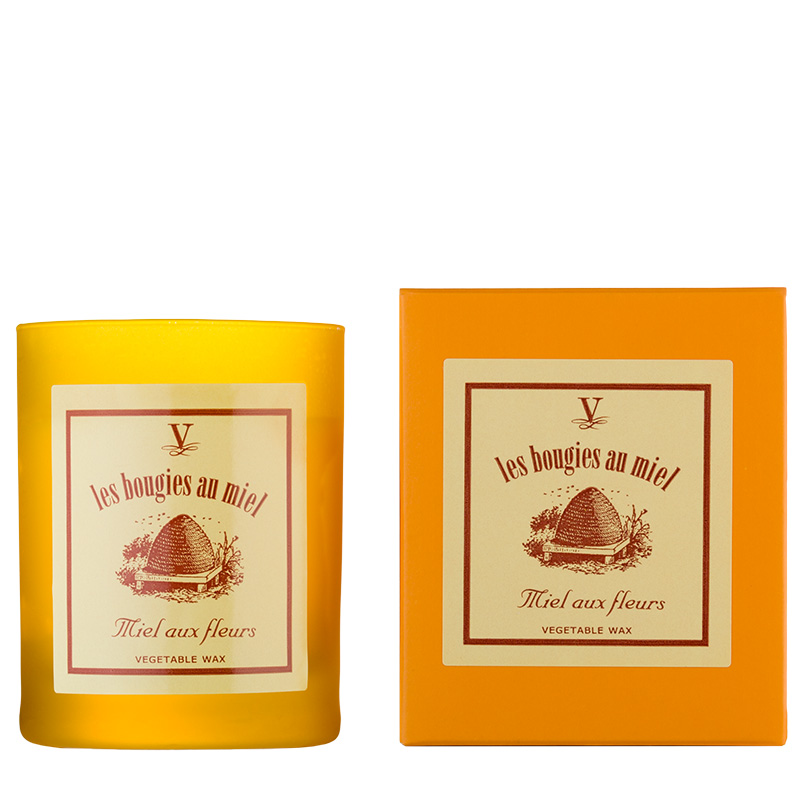Honey Flower candle