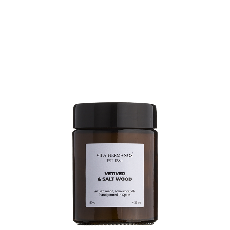 Vela Apothecary Vetiver & Salt Wood